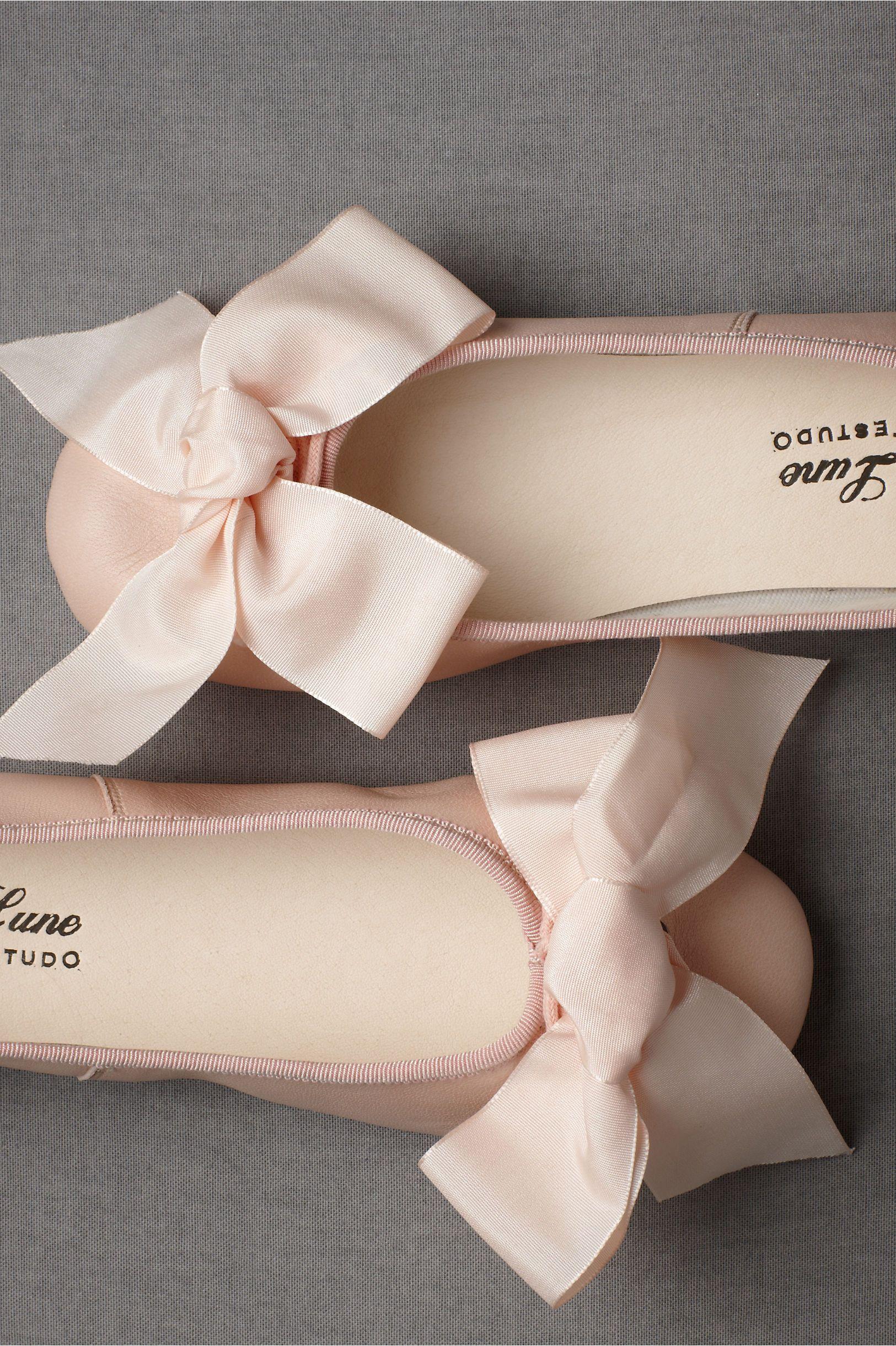 BHLDN Parisian ballet flats, $250.