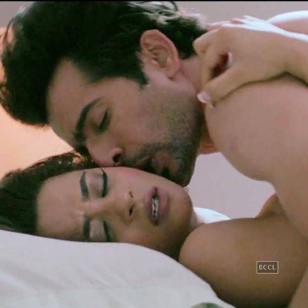 Surveen Chawla Hot Kiss