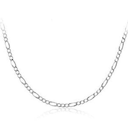Bling Jewelry Sterling Silver 060 Gauge Mens Figaro Chain Necklace Bling Jewelry 29 Mens Figaro Chain Necklace Figaro Chain Necklace Cheap Bridesmaid Jewelry