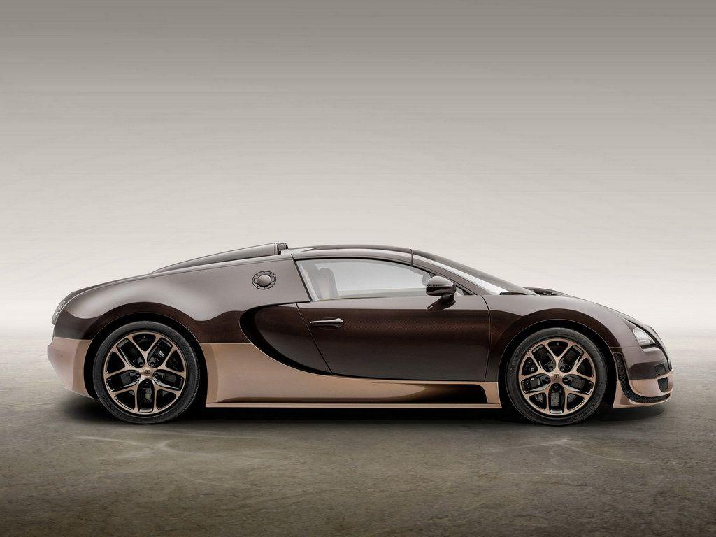 2014 Bugatti Veyron Rembrandt Bugatti Side View HD Car Wallpapers