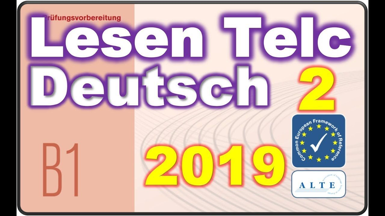 Modelltest 2 B1 Schule Lesen Deutsch 30 03 2019 Deutsch Telc Education