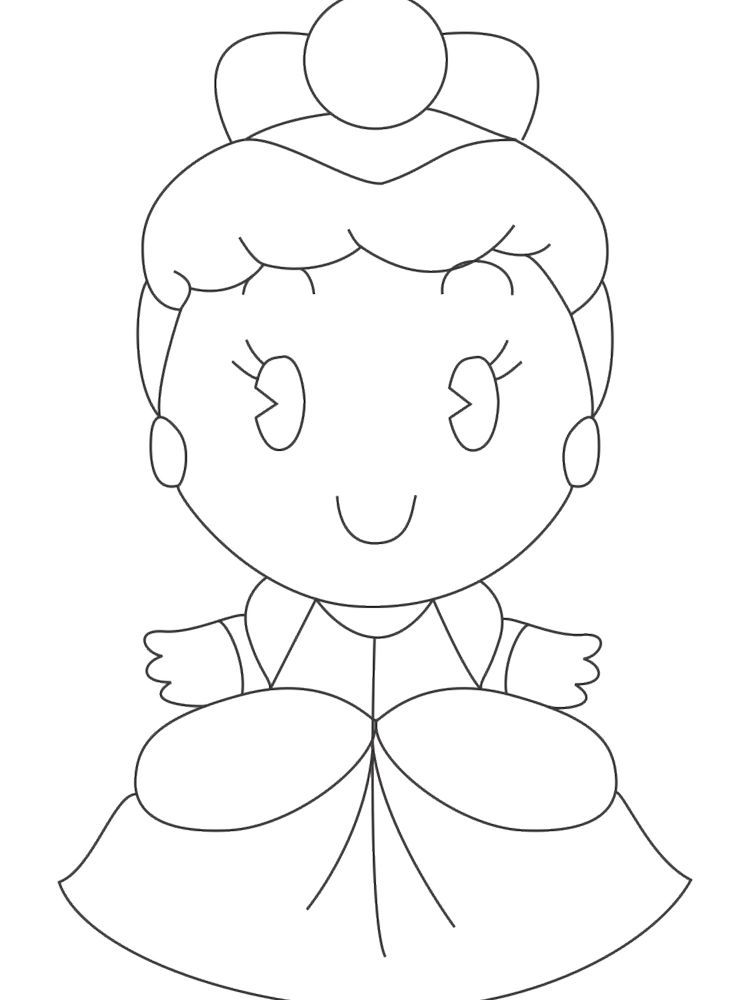 Disney Princess Cuties Coloring Pages Free Disney Cuties Are Disney Character In This Case Princess Depi Coloring Pages Disney Cuties Cartoon Coloring Pages