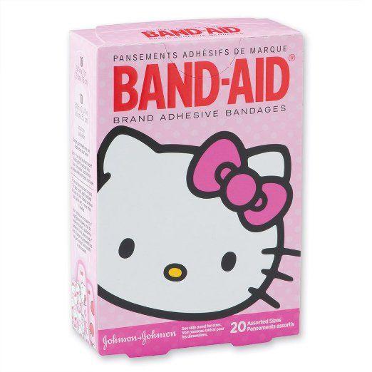Hello Kitty Band-Aid Bandages