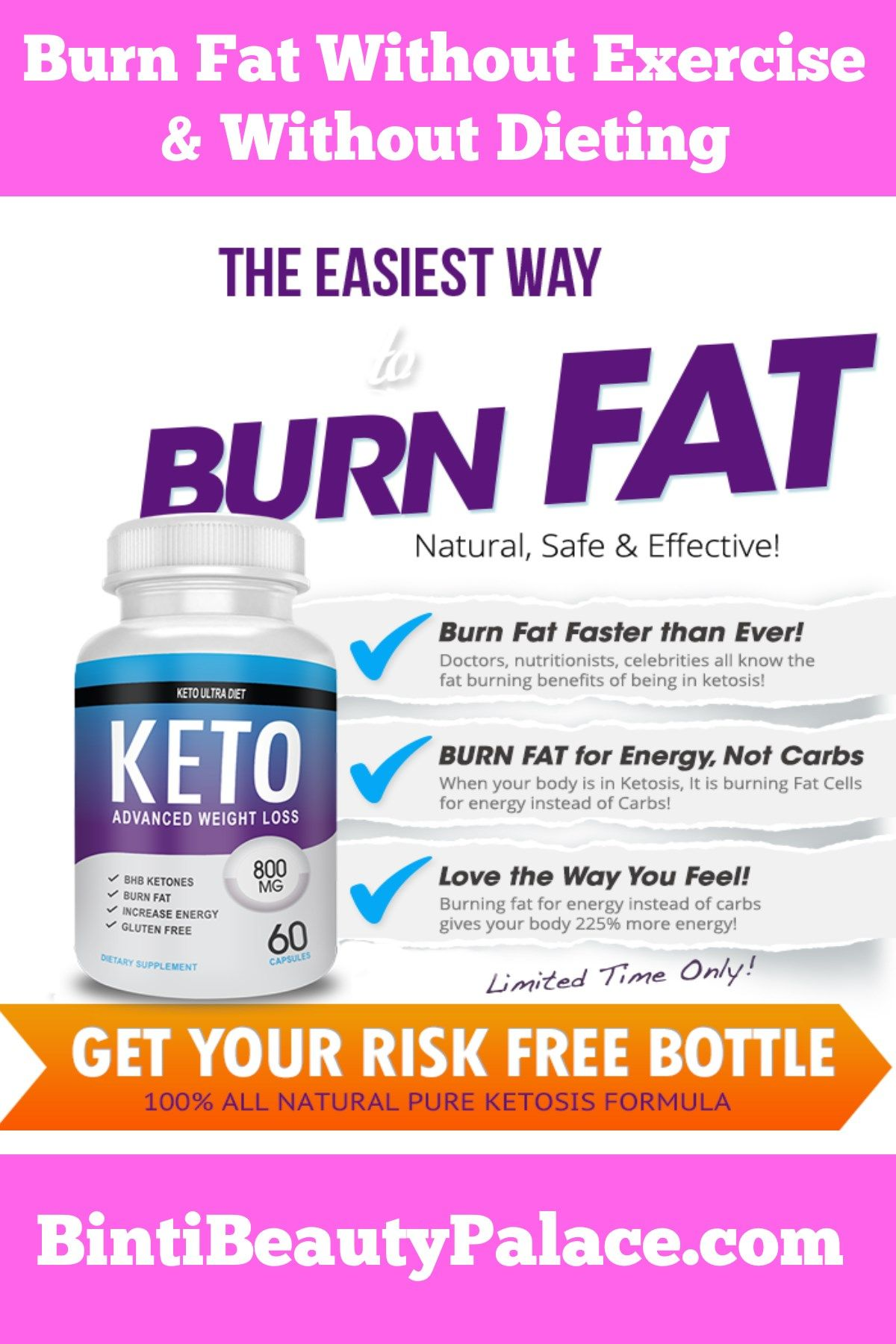diet and exercise for a fat burning blocker