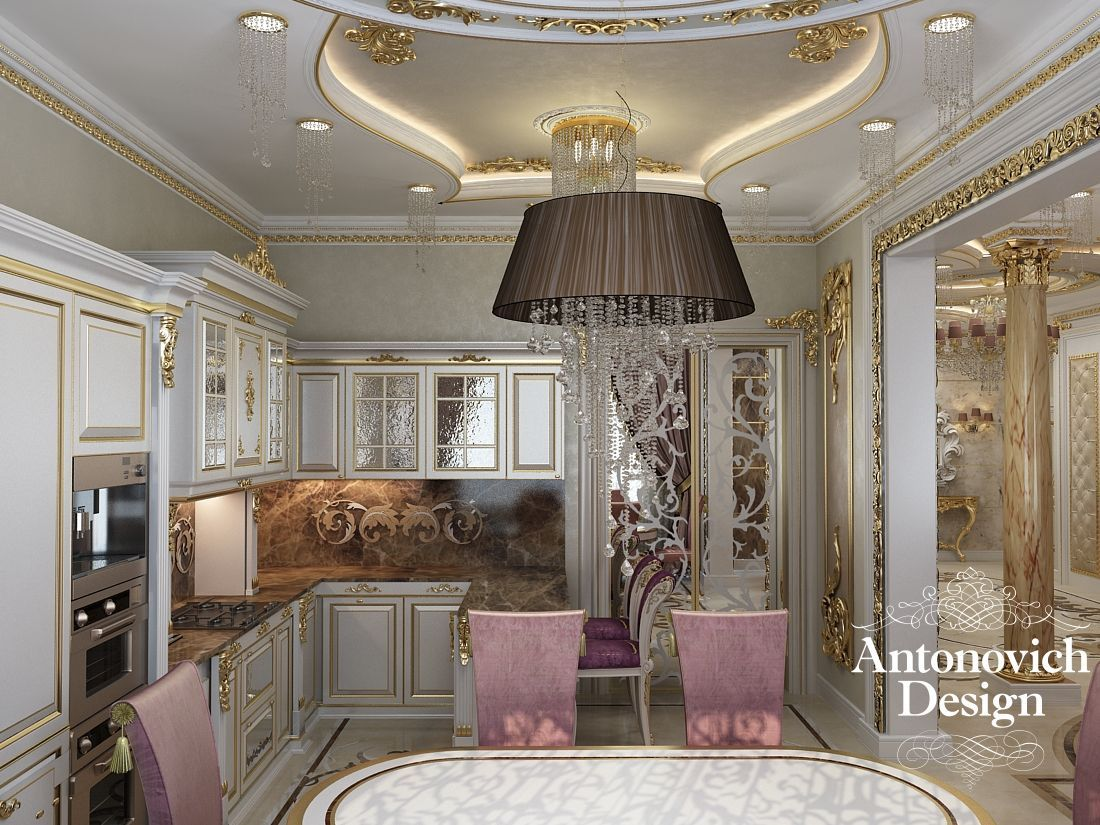 Kitchens dubai from antonovich design - Luxury Lunchtime With Antonovich Design