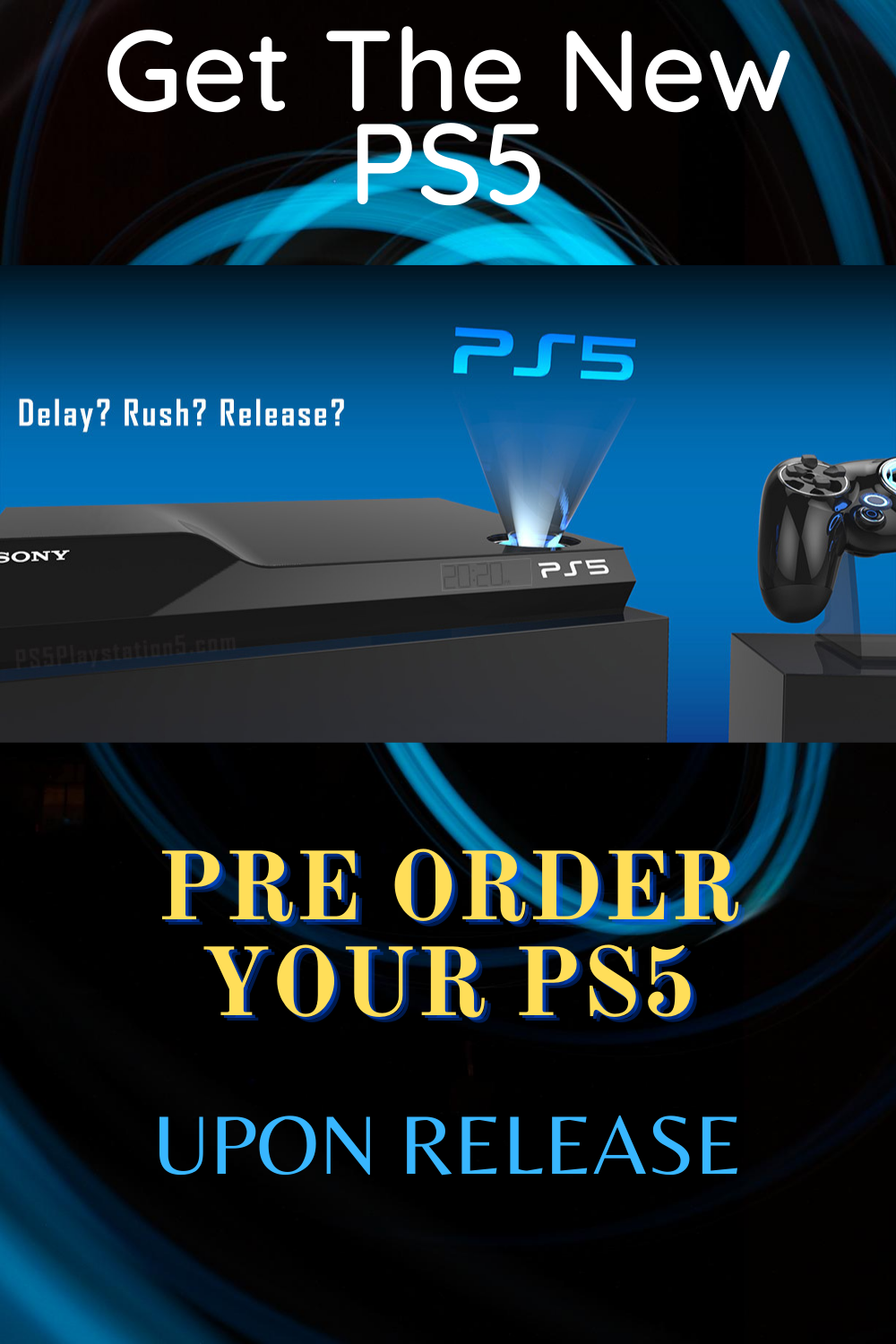 Get the Sony PS5! in 2020 Release, Amd, News