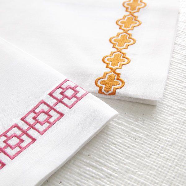 Wisteria - Accessories - Linens - Crisp Cotton Hand Towels - Set of 2 Thumbnail 3