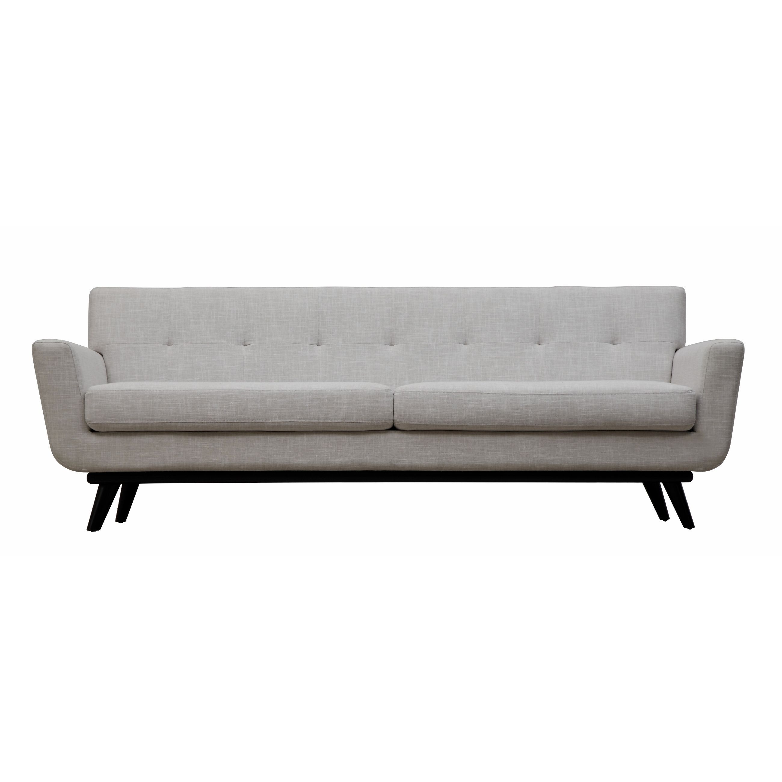 Strong and handsome with a soft side The Calvin sofa captures the
