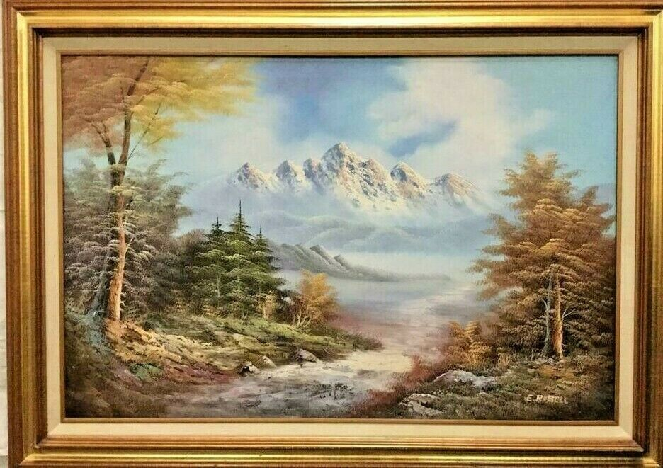 Pin On Vintage Landscape Paintings