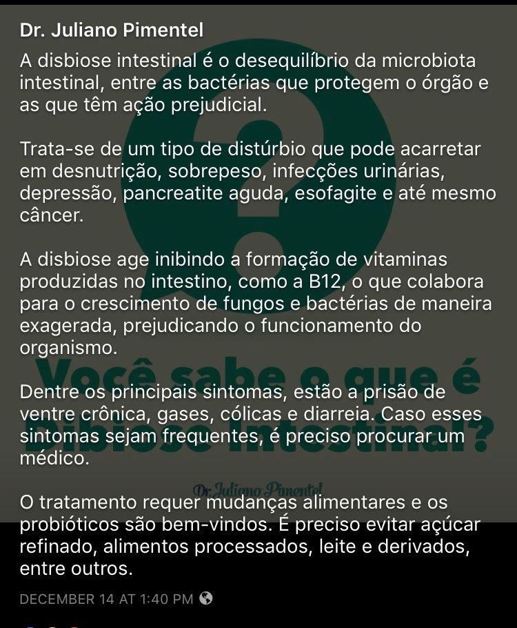 Saúde com Dr. Juliano Pimentel