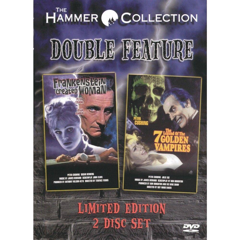 Frankenstein Created Woman/The Legend of the 7 Golden Vampires (Widescreen)