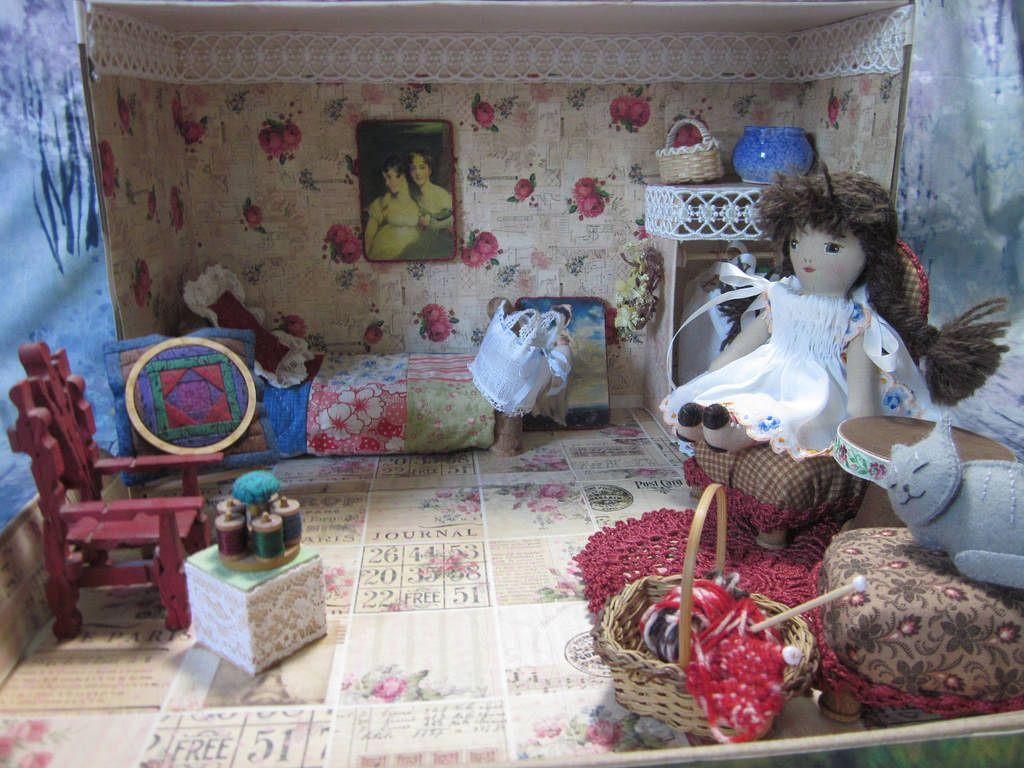 Shoebox Bedroom Shoebox Bedroom By Beth Ann Webber For Her Mini Prairie Flower