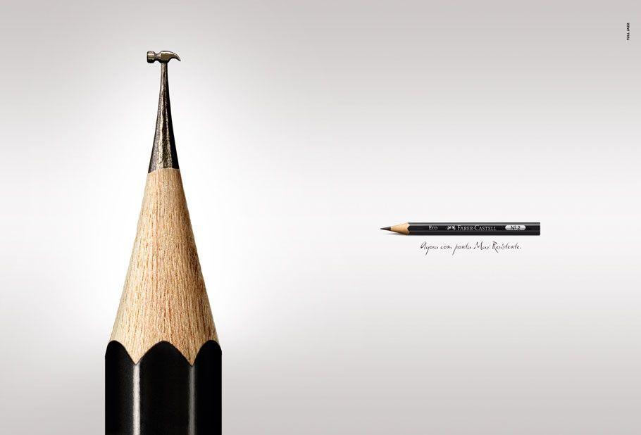 [A]daptar: características do produto ou processo podem ser adaptadas | Anúncio Faber Castell