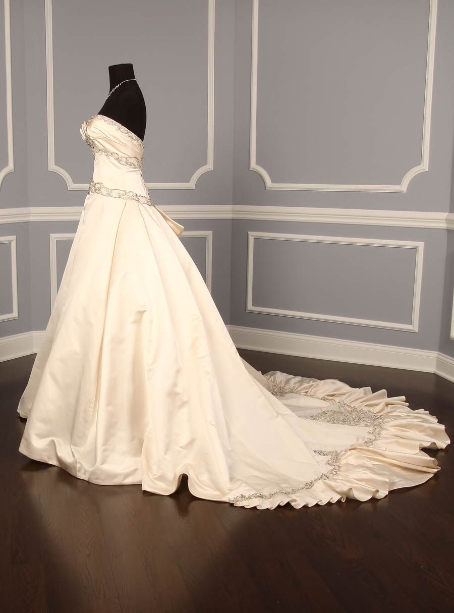 Kenneth Pool for Amsale K316 Majesty Couture Wedding Gowns Discount Designer Bridal Dress