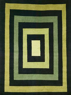 Idea Of Concentric Rectangles Rug (Interior Resources Of Dallas, TX: Green  Rectangles Http