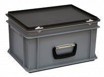 Kunststoffkoffer Mit Griff Auf Der Langsseite 400x300x235 Mm