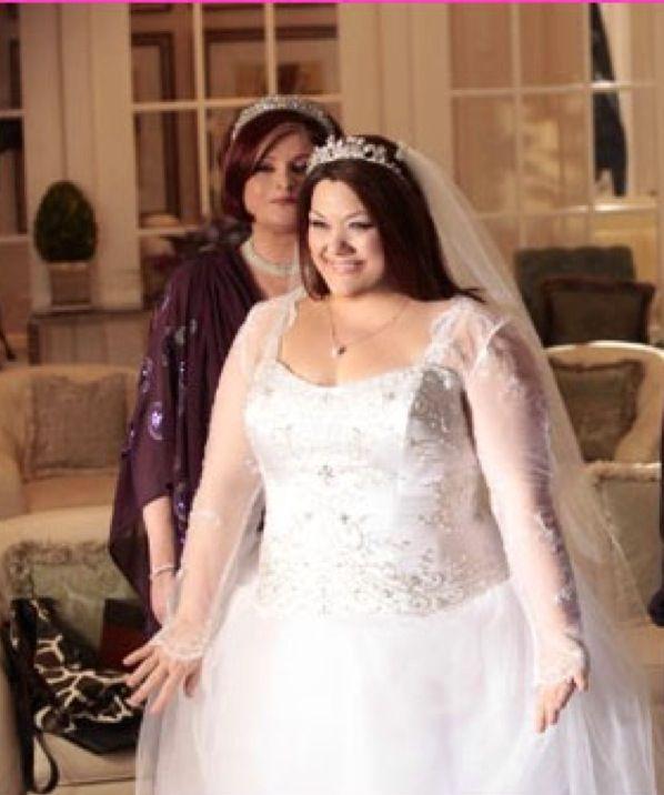 Jane Bingum S Wedding Dress From Drop Dead Diva With A Crystal Beaded Bodice Love It