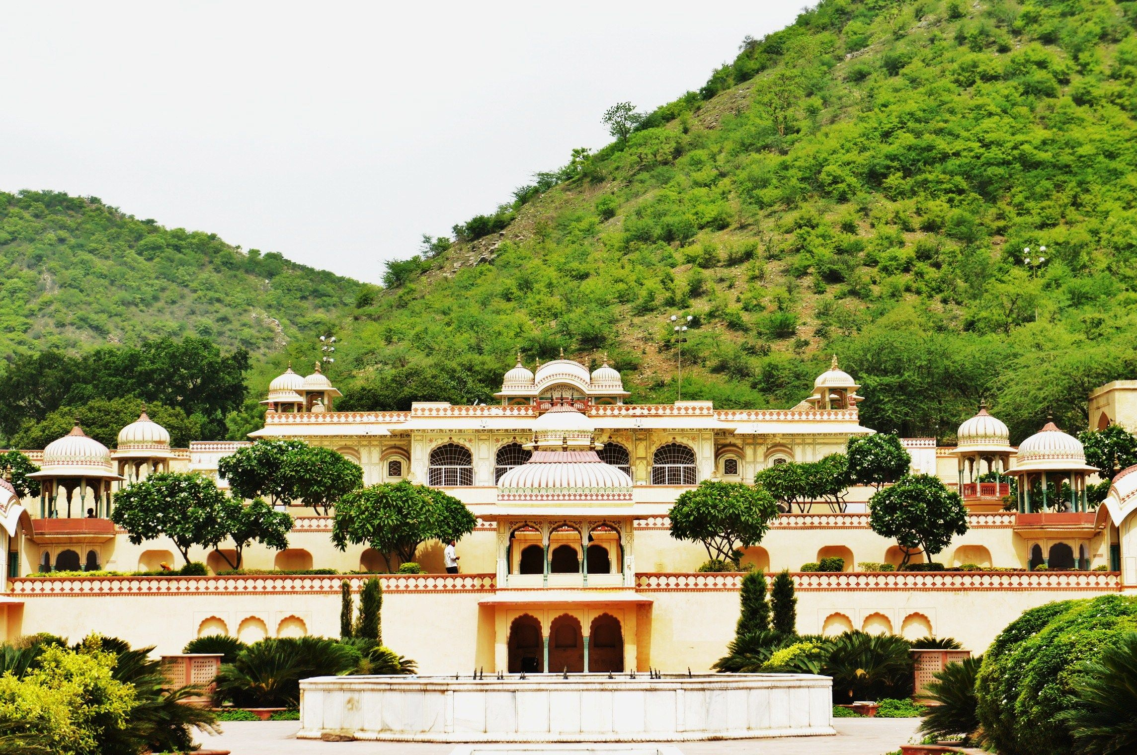 Sisodia Rani Garden And Palace Is A Palace Garden 6 Kilometres