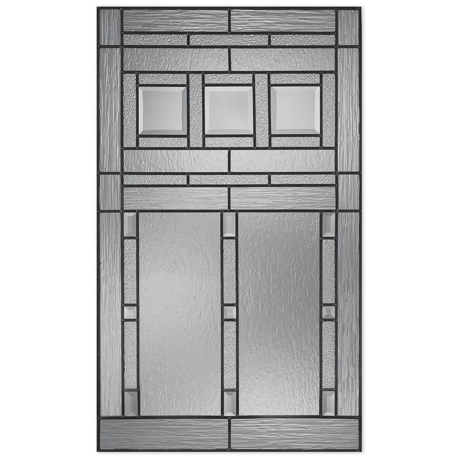 Reliabilt 22 In X 36 In Glass Insert Door Glass Inserts Decorative Door Glass Reliabilt