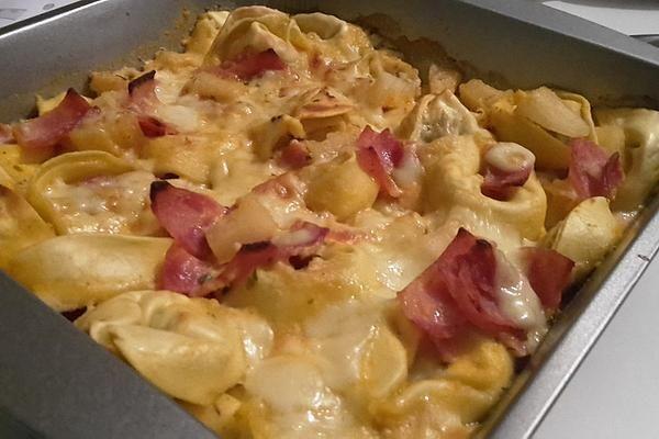 Tortellini - Auflauf mit Schinken und Ananas | Chefkoch