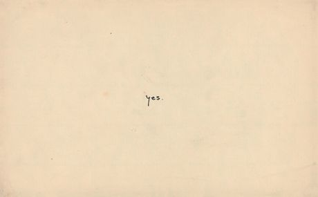 Yes. By Yoko Ono, from An Invisible Flower.