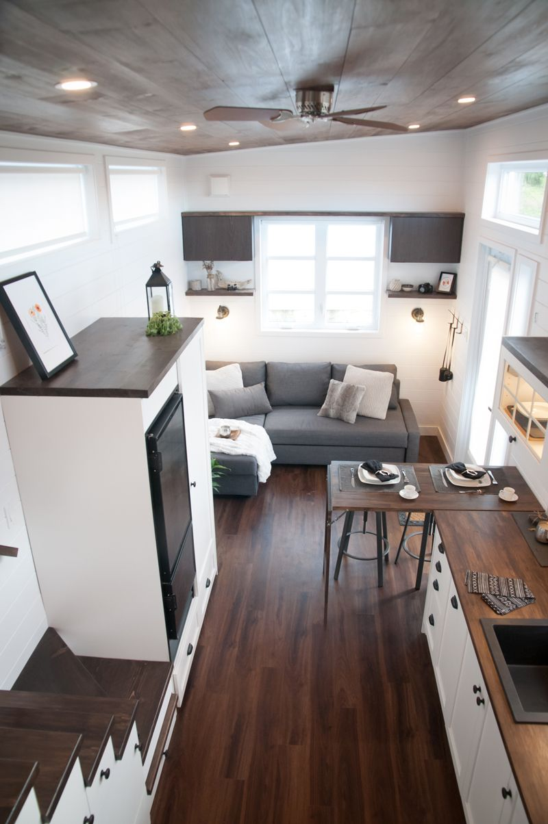 The Laurier Our 6th Custom Tiny House On Wheels A Very