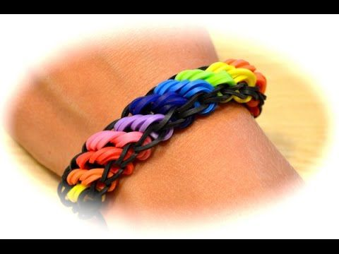 Rainbow Loom Rotini Armband Deutsche Anleitung Youtube Gomitas