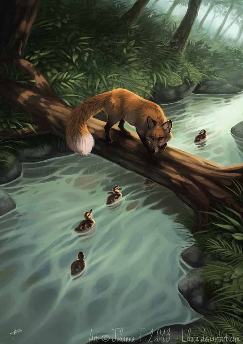 вариант картинки фэнтези животные и природа ермаковском
