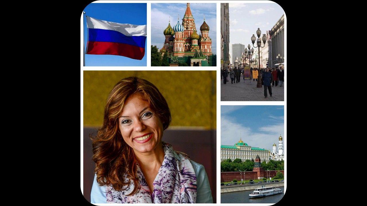 السفر فى دقايق حول العالم مع لينا الرفاعى مدينة موسكو عاصمة روسيا الجز Youtube Polaroid Film Film