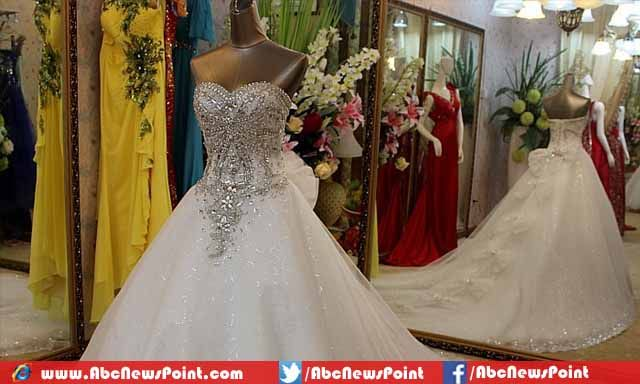 Top 10 Most Expensive Wedding Dresses In The World 2017 1 Diamond Gown 12 Million