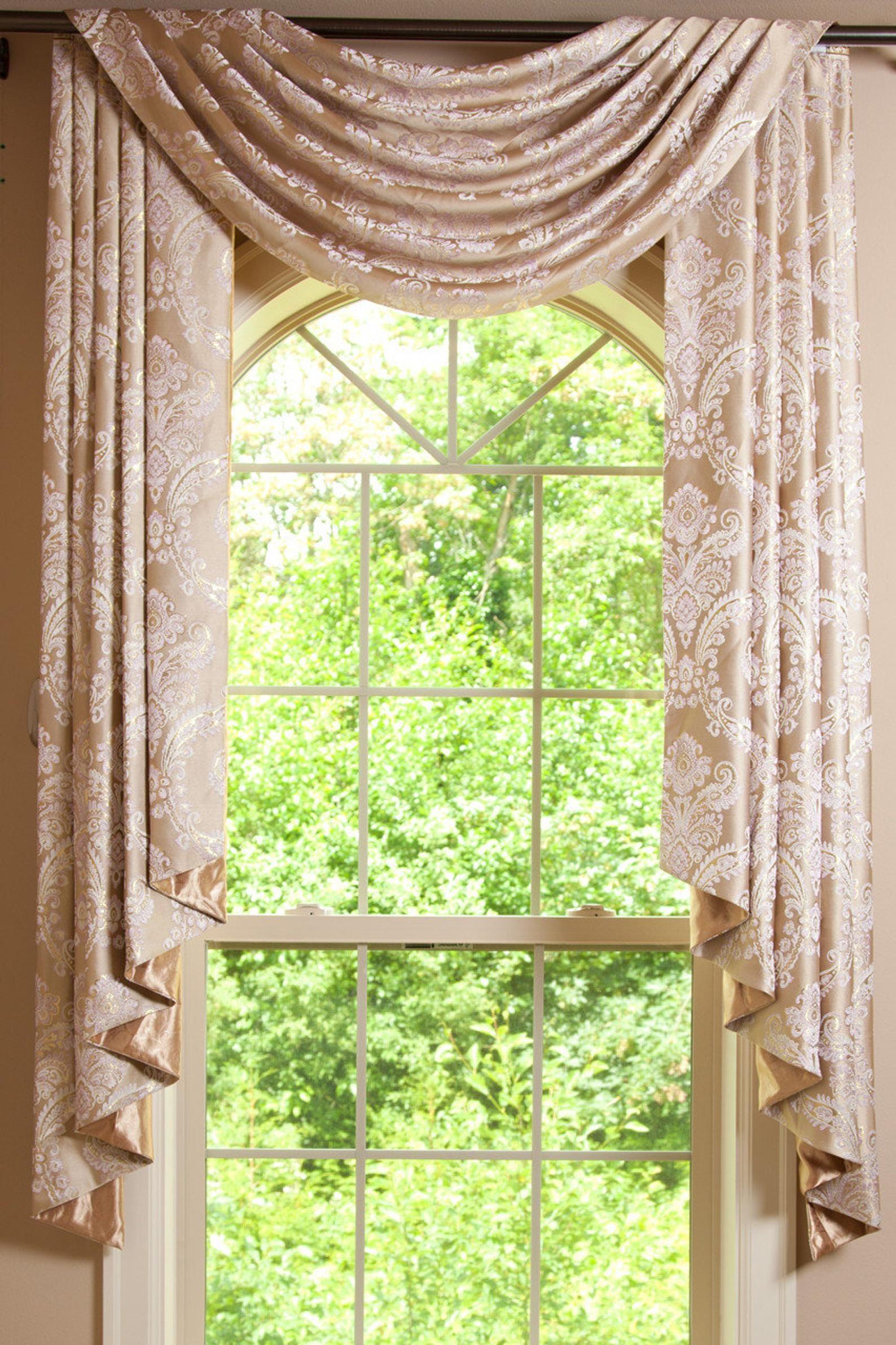 Pole Swags Jabots Custom Curtains Custom Made Window Etsy Curtains Swag Curtains Home Curtains