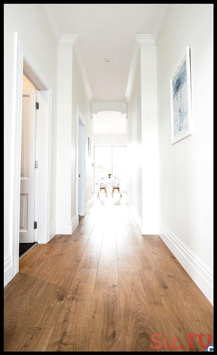 Go coastal with pale walls and Vue laminate flooring The embossed in register textured grain reflects the warmth and richness of timber along wGo coastal with pale walls...