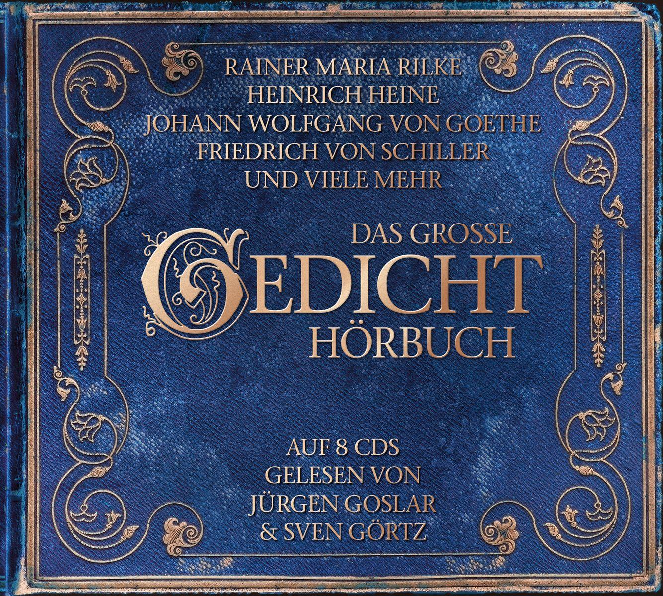 Das große Gedicht Hörbuch (ZYX) EAN: 0090204832972  Kaufen: http://www.hoerdeutsch.de/das-grosse-gedichthoerbuch.html