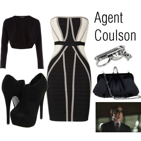 Agent Coulson, created by geekgirl4ever on Polyvore