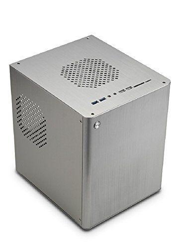 Computer Case Mini Tower Micro ATX Mini ITX Silver Alumin