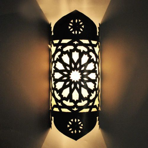 d tails sur oriental applique murale lampe marocaine maroc. Black Bedroom Furniture Sets. Home Design Ideas