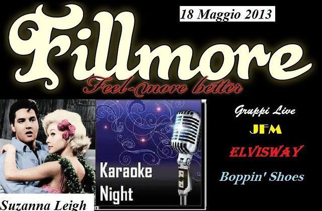 """""""Elvis Presley Hollywood Night"""" - Grande Serata organizzata dall' Elvis Fan Club Piacenza Sabato 18 Maggio ore 18:30 al Fillmore di Cortemaggiore (Piacenza)."""