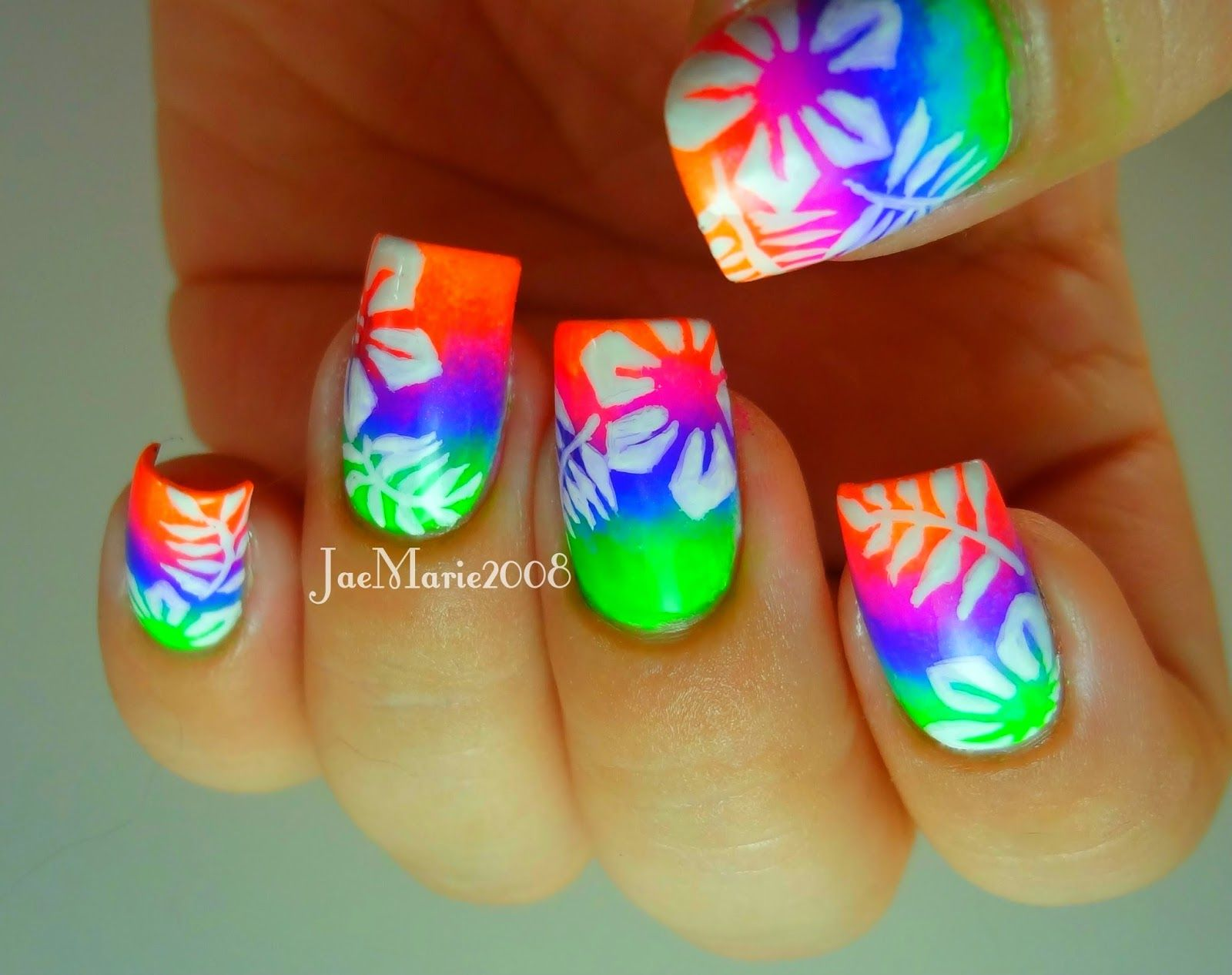 Summer Acrylic nail designs | Nails | Pinterest | Summer acrylic ...
