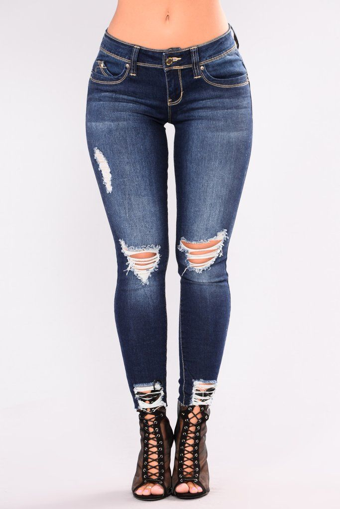 9bdad7bbe10e9 Dance Dance Dance Booty Lifting Jeans - Dark Denim