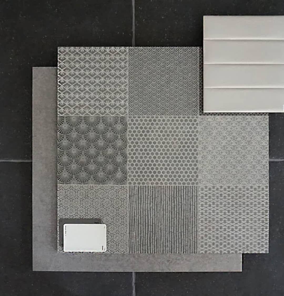 Nord Zen Cement Flat Lay Elegance Tiles Tile Patterns Tiles