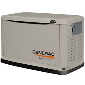 Generac Guardian 6439 11kw Home Standby Generator Standby Generators Generator House Portable Power Generator