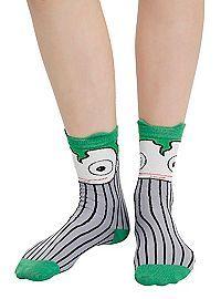 HOTTOPIC.COM - DC Comics The Joker Kawaii Ankle Socks