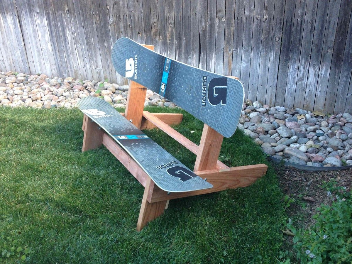 The Official Disbanded Designs Snowboard Bench Snowboard Diy Bench Diy Bench Seat