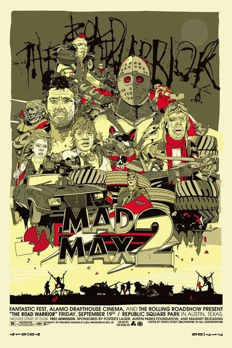 Movie Posters - Mondo - Mad Max 2 by Tyler Stout