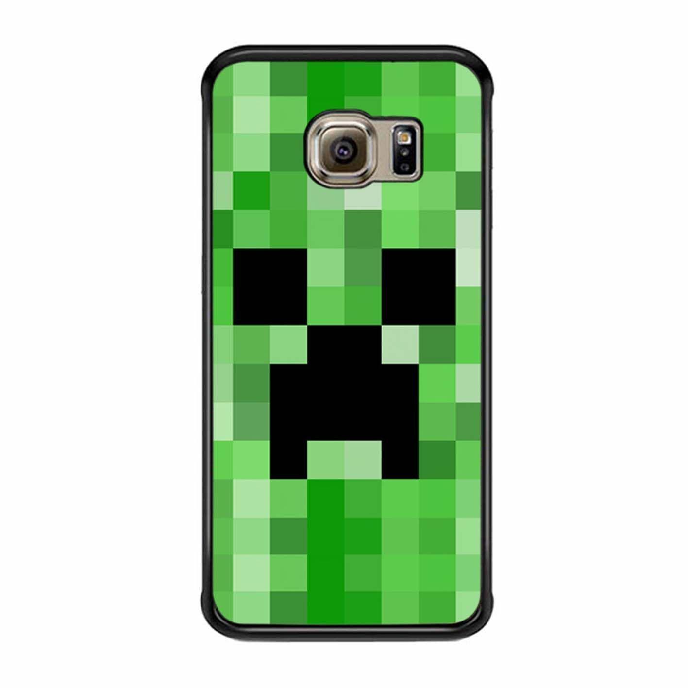 Minecraft Creeper Samsung Galaxy S6 Edge Case   Mine craft   Pinterest