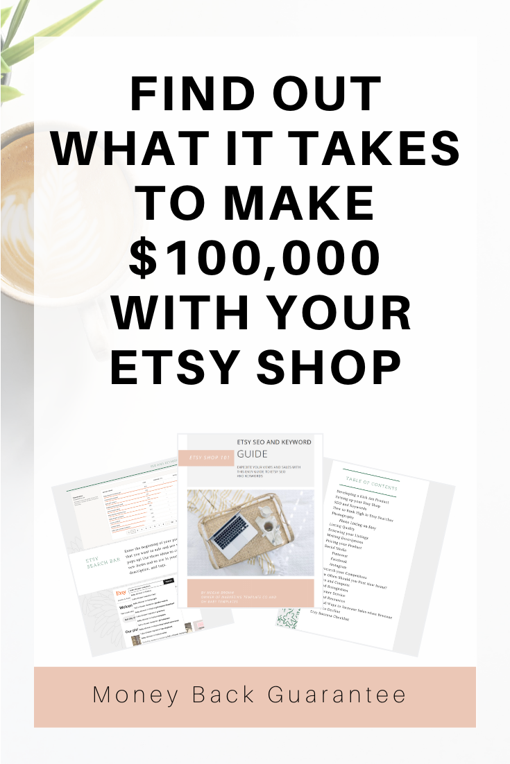 Did you start your Etsy shop on a whim to FINALLY get the financial freedom you've been dreaming of? Did you start your Etsy shop in hopes to finally do something you enjoy? Did you start your Etsy Shop in hopes to quit your dreaded 9-5? Did you start your shop as a stay at home mom to earn extra cash and give you a business of your own? Etsy is overwhelming, scary and confusing, but I make it simple. #etsyshop #etsyseller #sellingonetsy #etsystore