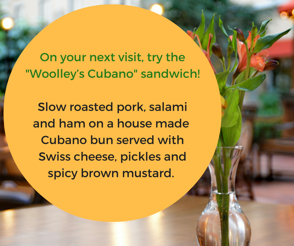 Jardin Bandung Cafe Menu: Try The Cubano Sandwich On Your Next Visit.
