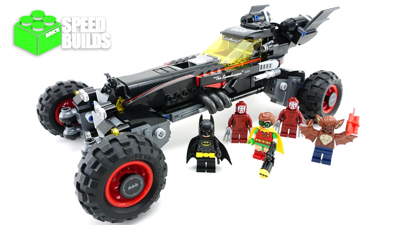 LEGO Batman Movie 70905 The Batmobile - 4K LEGO Speed Build