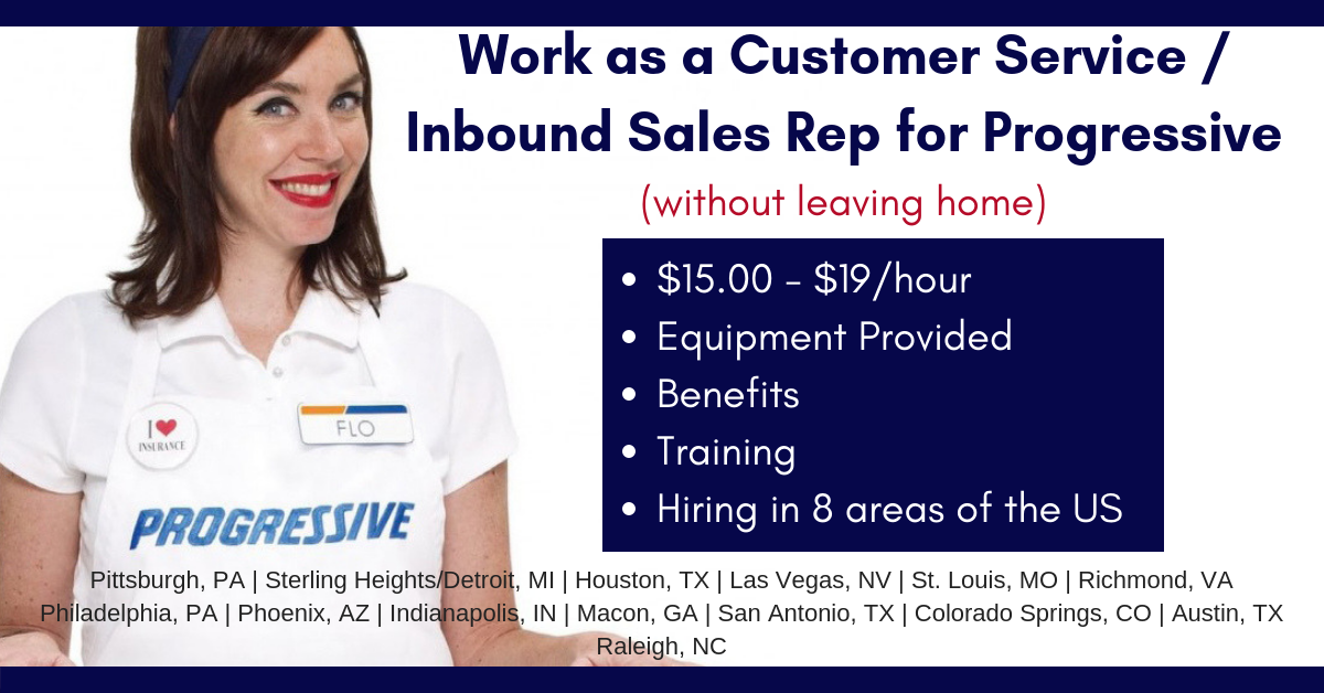 Progressive Is Hiring 15 19 Hr Training Equipment Inbound