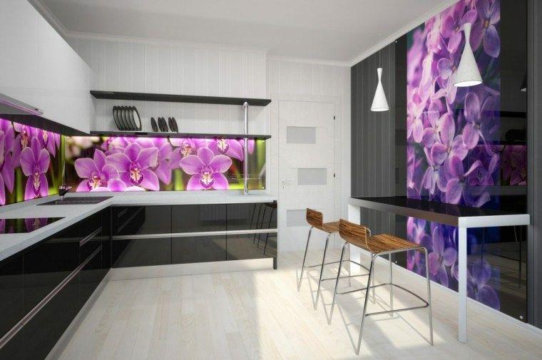 Interiores De Cocinas Con Cuadros De Mando Modernos Y Su Función Práctica Y  Estética. #
